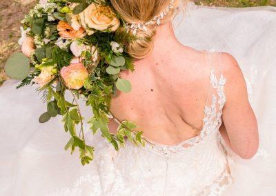 Styled Wedding Shoot Natuurlijk Koper MM Visagie Hairstyling 16