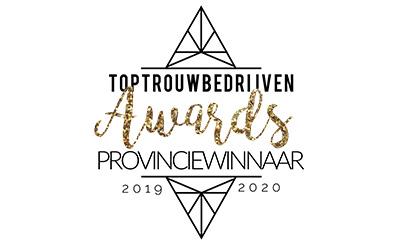 MMVisagie & Hairstyling Provinciewinnaar Top Trouwbedrijven Awards 2019-2020